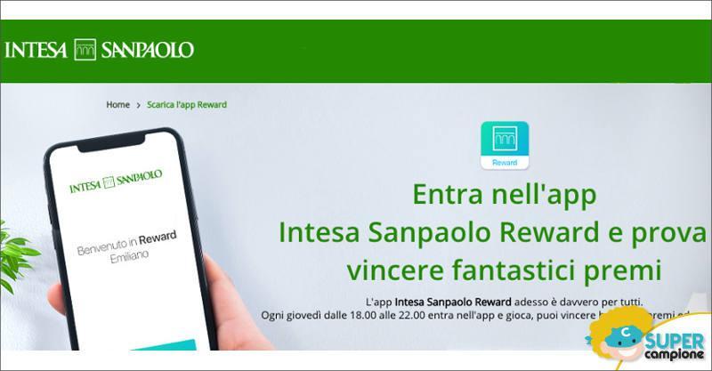 Intesa Sanpaolo: vinci gratis tanti premi