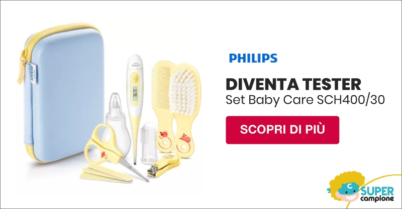 Diventa tester Set Baby Care con Philips