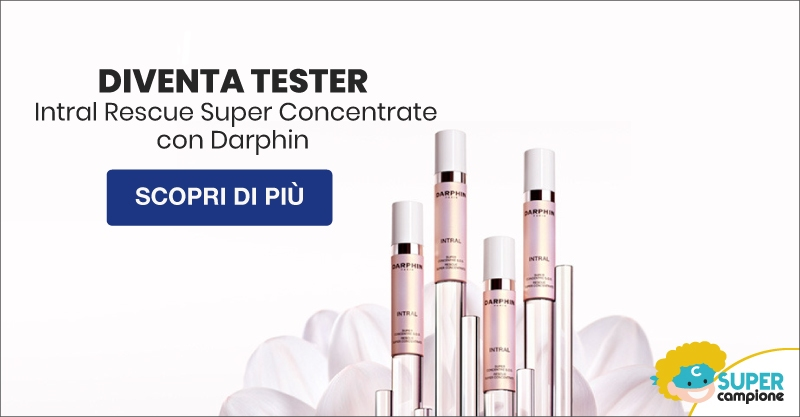 Diventa tester Intral Rescue Super Concentrate di Darphin