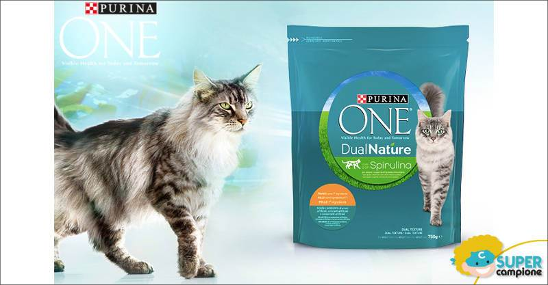 Purina: vinci gratis 500 forniture Purina One DualNature