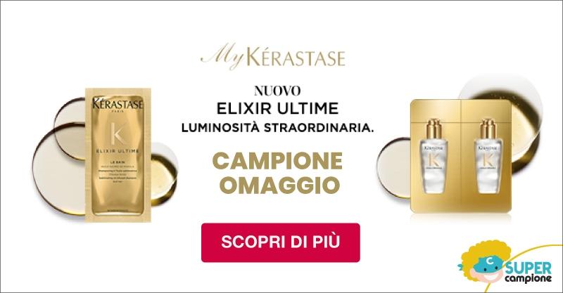 Campione omaggio gratis My Kerastase Elixir Ultimune