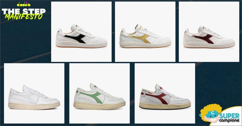 Diadora: vinci gratis 65 paia di scarpe