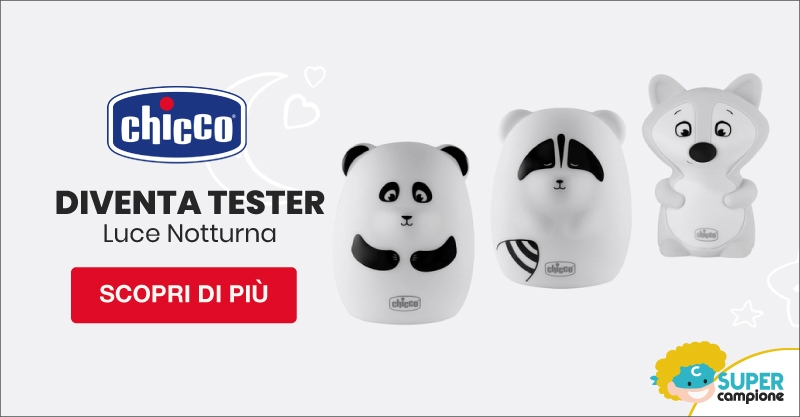 Diventa tester luce notturna Chicco
