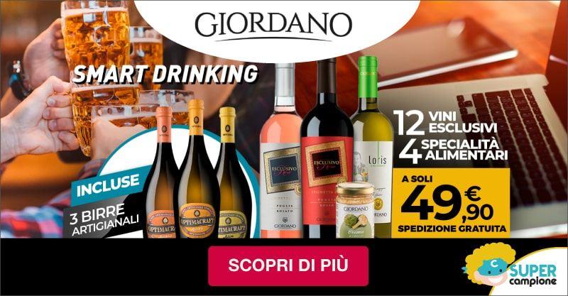 Giordano Vini: 12 vini, 4 specialità alimentari e incluse 3 birre artigianali