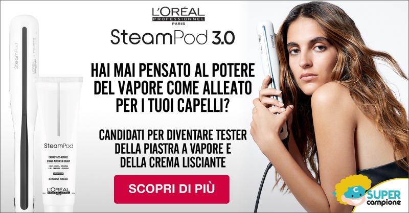 Diventa tester PIASTRA VAPORE STEAMPOD 3.0 L'OREAL