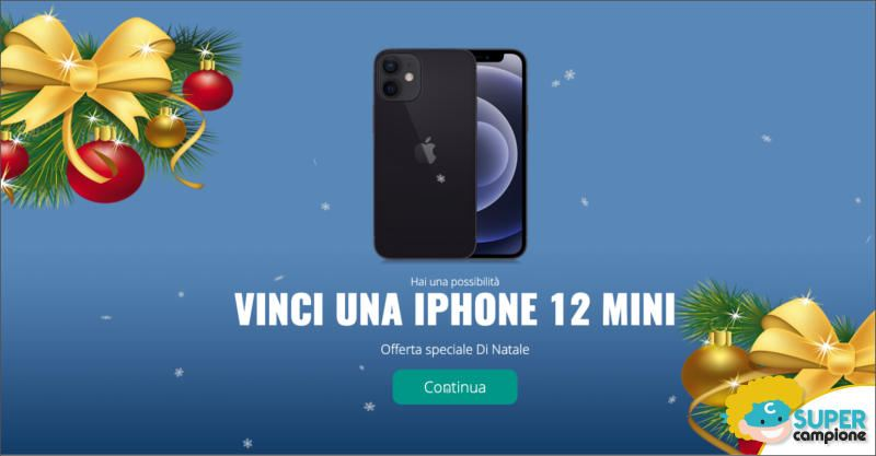 Vinci gratis un iPhone 12
