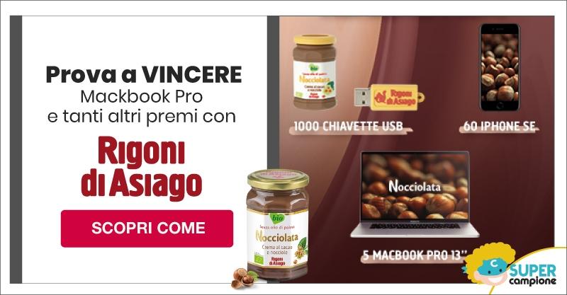 Vinci Macbook Pro e tanti altri premi con Rigoni di Asiago