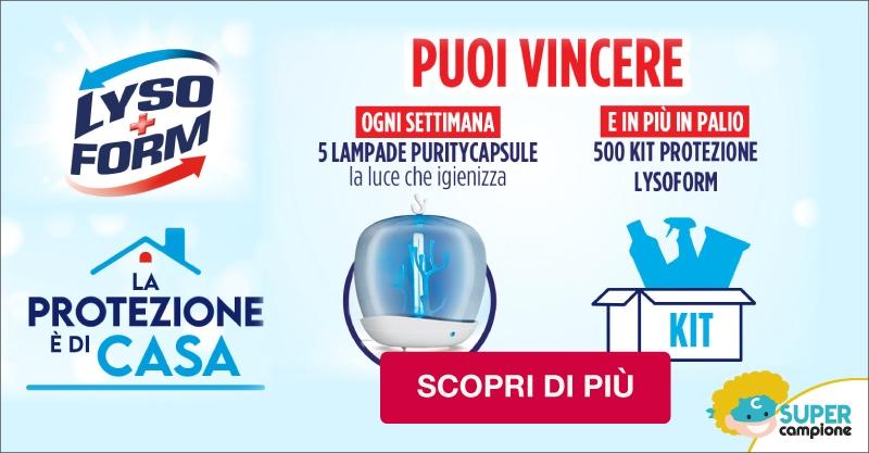 Vinci 500 Kit Protezione Lysoform e le esclusive lampade Purity Capsule!