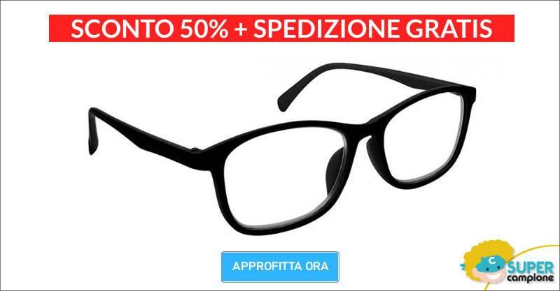Offerta occhiali da vista con lenti multi focus
