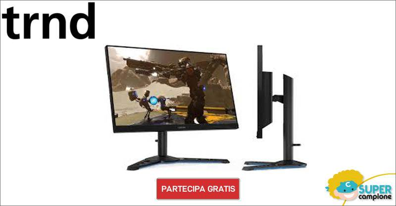 Diventa tester monitor Lenovo da gioco FHD LCG