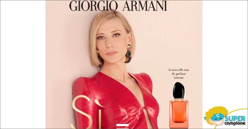 Campioni omaggio Armani: profumo Sì + fondotinta Luminous Silk