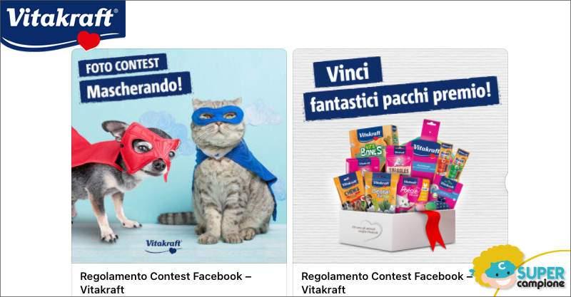 Vinci gratis prodotti per cane o gatto Vitakraft