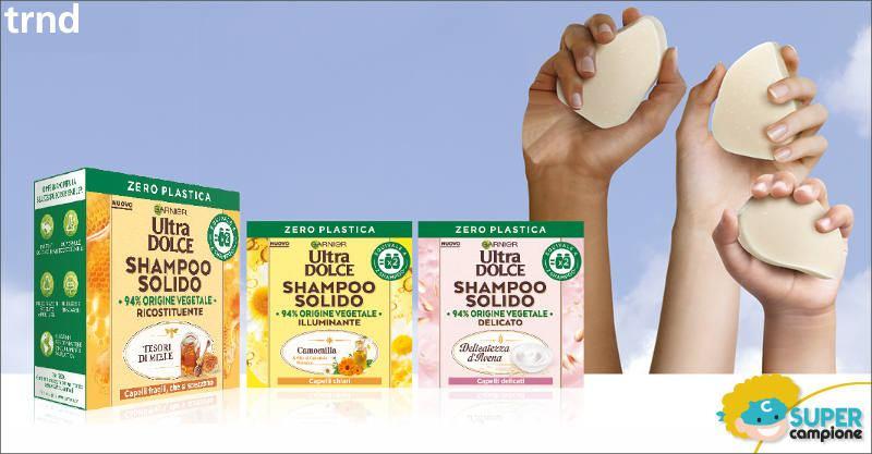 Diventa tester Ultra Dolce Garnier shampoo solido