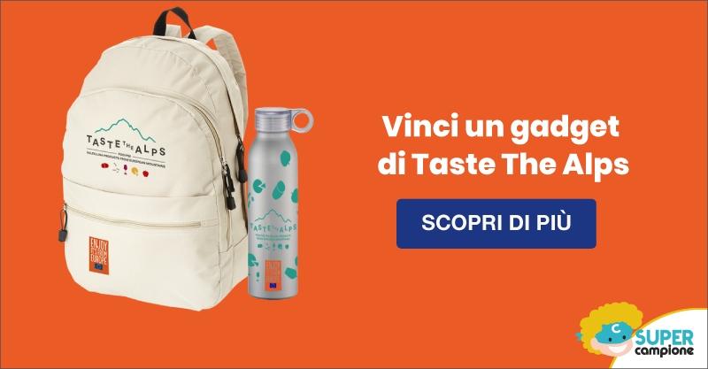 Vinci gratis un kit Taste The Alps