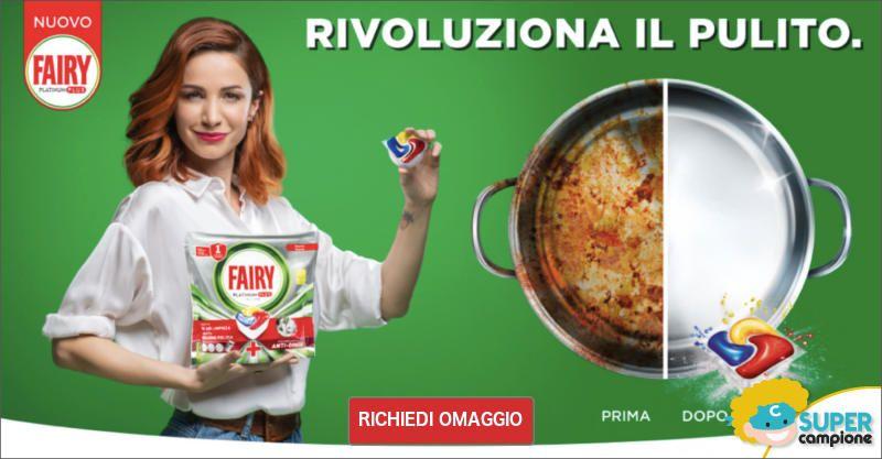 Campioni omaggio Fairy Platinum Plus