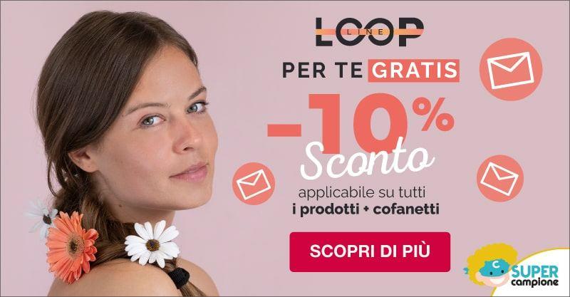 Codice sconto del 10% sui cosmetici LoopLine