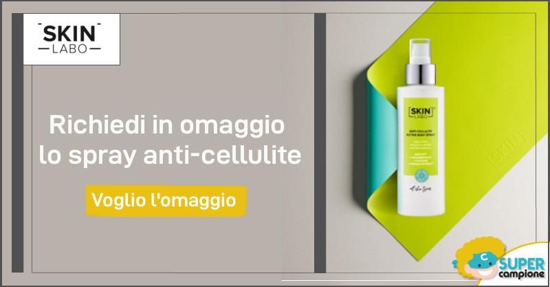 Omaggio SkinLabo: spray attivo anticellulite