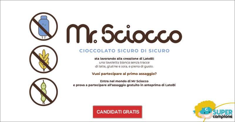 Prova gratis il cioccolato Mr. Sciocco