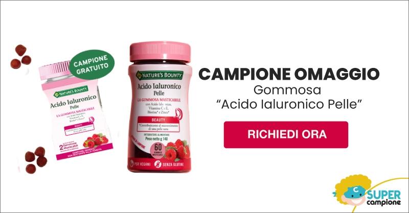 Campioni omaggio gommosa Acido Ialuronico Pelle