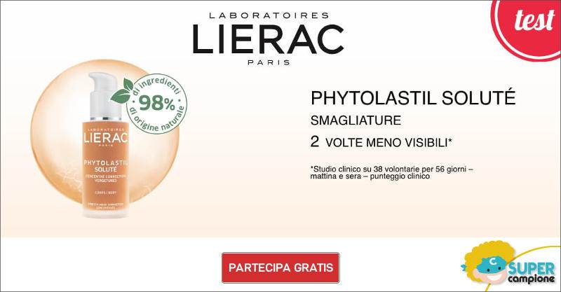 Diventa tester siero smagliature Phytolastil Lierac