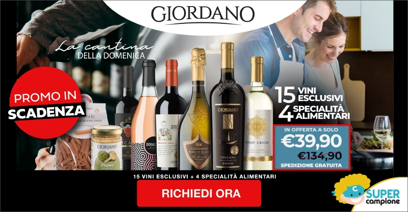 Giordano Vini: offerta speciale Cantina della Domenica