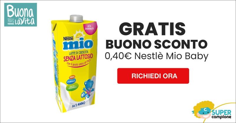 Buono sconto Gratis 0,40€ Nestlè Mio Baby