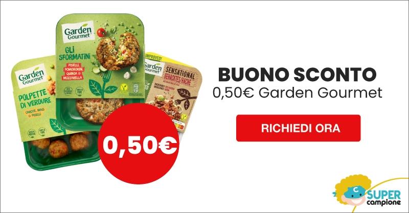 Buono sconto GRATIS 0,50€ Garden Gourmet