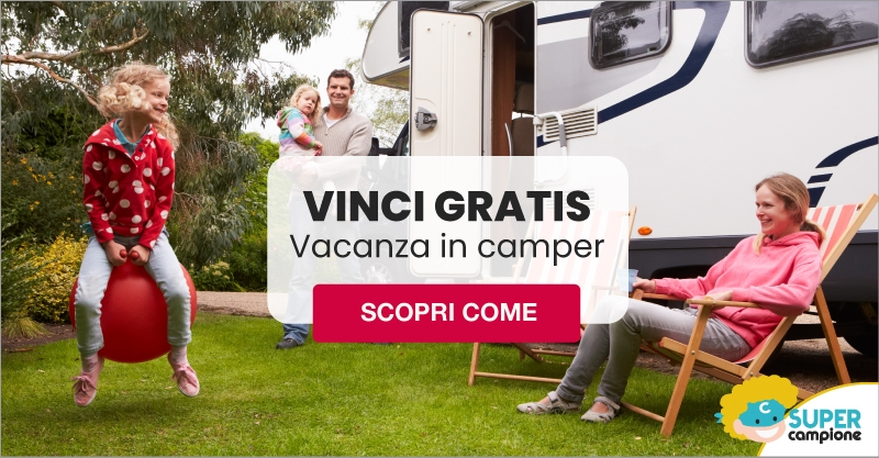 Vinci gratis una vacanza in camper