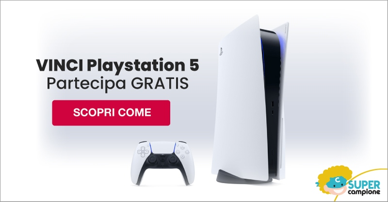 Vinci gratis la nuova Playstation 5