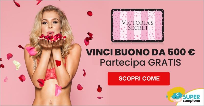 Vinci un buono Victoria's Secret da 500€