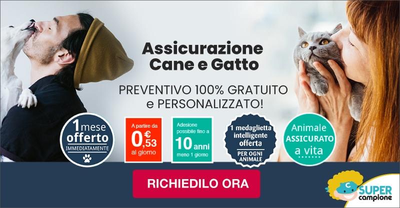 Assicurazione Cane e Gatto: ricevi 1 mese gratis + medaglietta