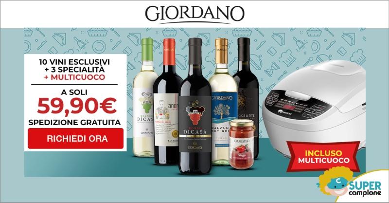 Giordano Vini: 10 vini, 3 specialità + incluso un robot multicuoco