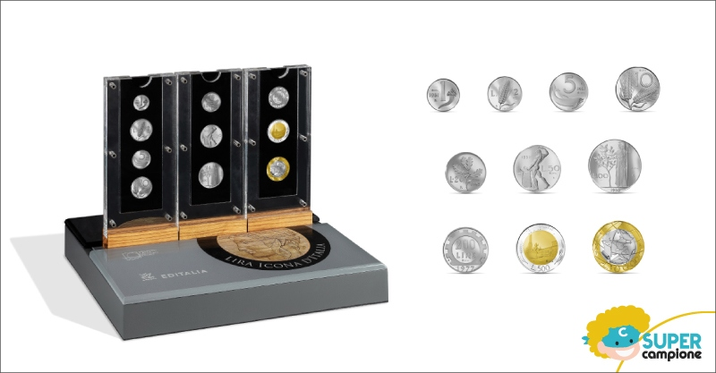 Editalia: nuova Collezione Platino Lira Icona d'Italia
