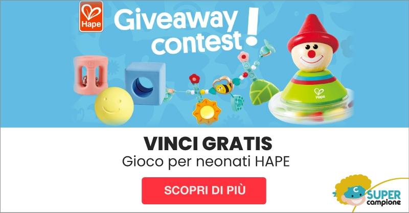 Vinci Gratis giochi per neonati Hape