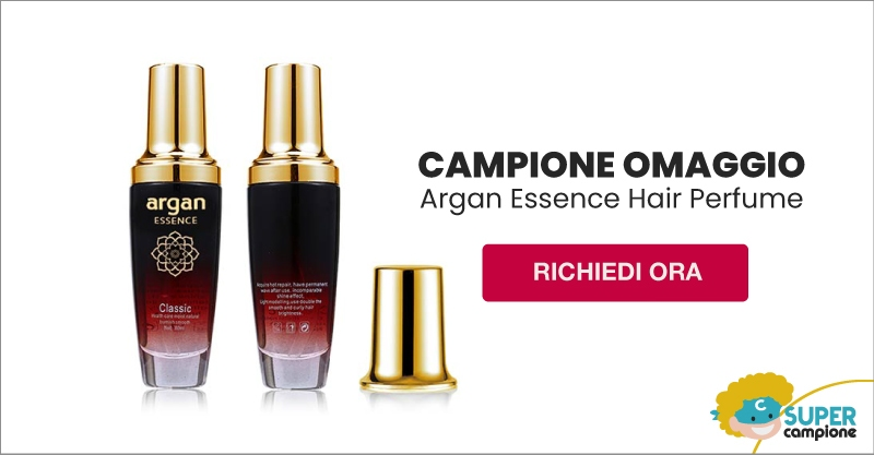 Campione omaggio Argan Essence Hair Perfume