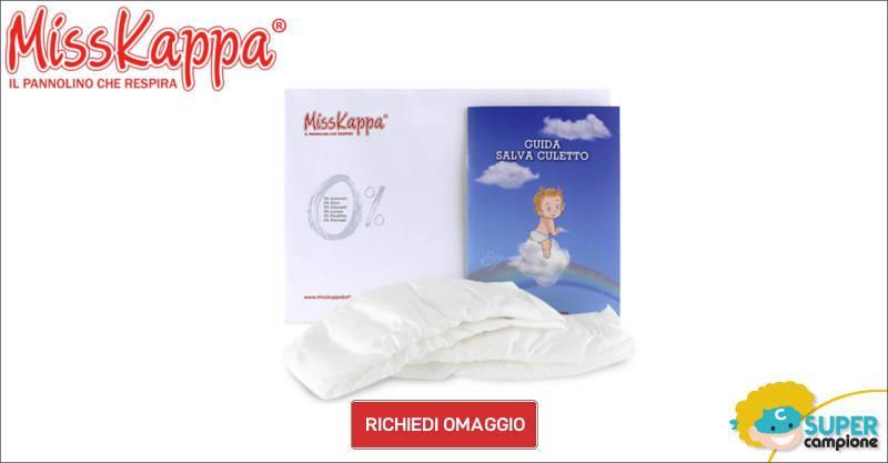 Campioni omaggio kit pannolini Misskappa
