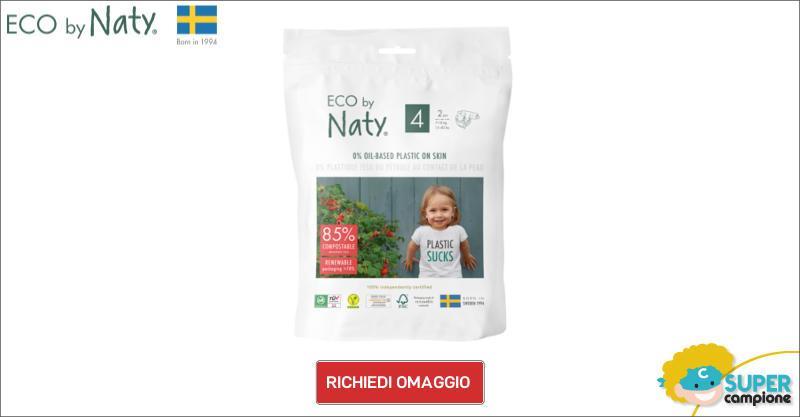 Campioni omaggio pannolini Eco by Naty