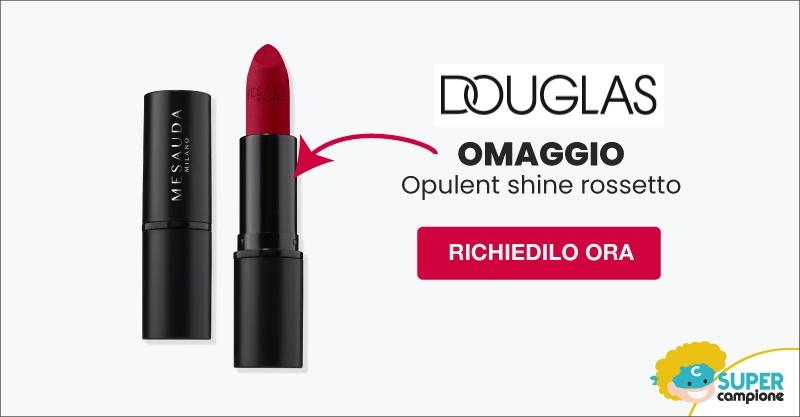 Omaggio Opulent shine rossetto con Douglas
