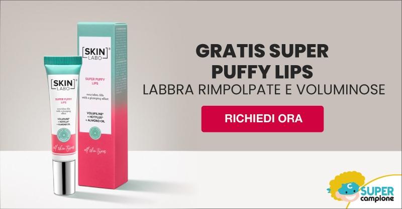 Omaggio SkinLabo: gel volumizzante labbra Super Puffy Lips