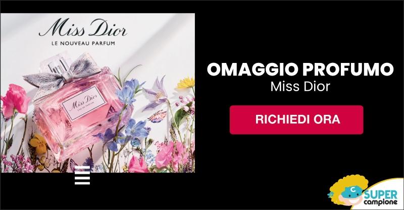 Omaggio profumo Miss Dior