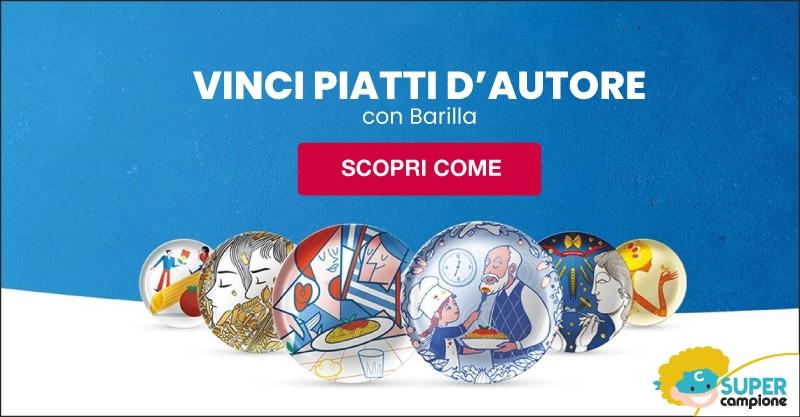 Vinci Piatti d'Autore edizione limitata Barilla