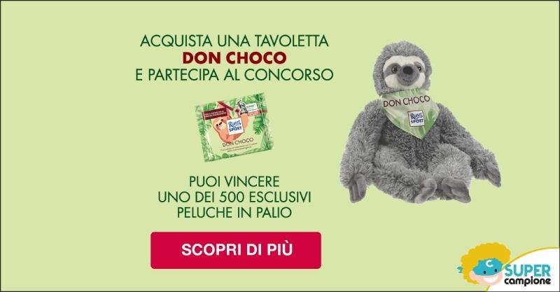Vinci il peluche Don Choco con Ritter Sport