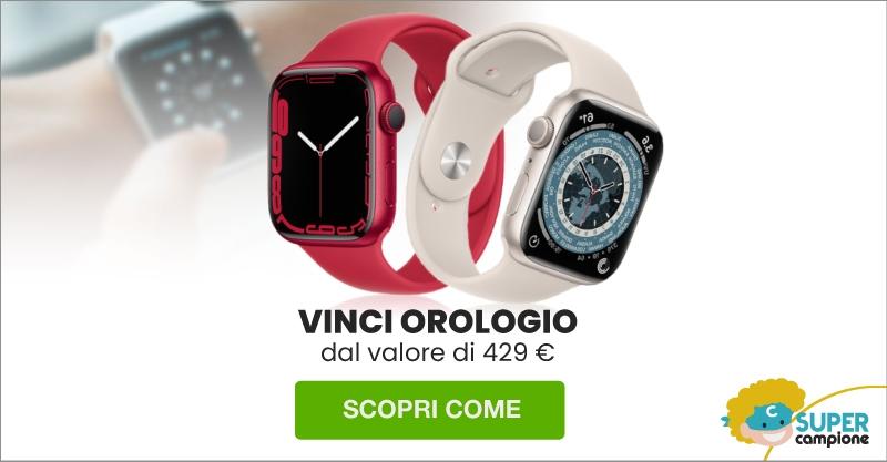 Vinci gratis uno smartwatch da 400€