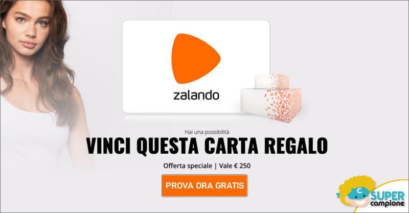 Vinci gratis un buono Zalando da 250€