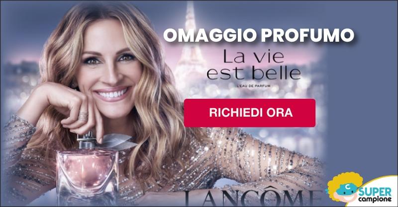 """Campione omaggio profumo Lancome """"La vie est belle Soleil Cristal"""""""