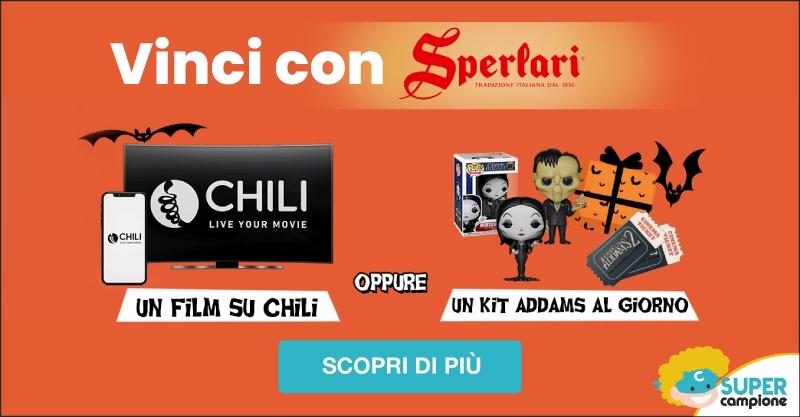 Vinci con Sperlari Kit Biglietti Cinema Addams